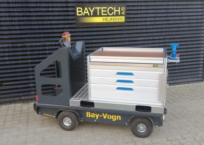 Elektrisk værktøjsvogn med sortimo