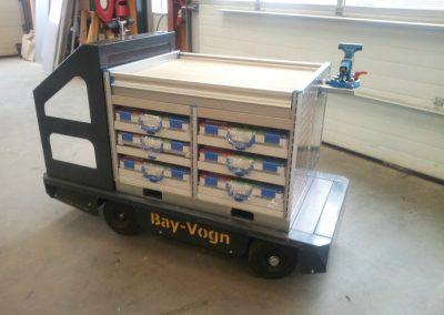 Eksempel på en værktøjsvogn fra Bayvogn